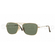 Ray-Ban RB3136 181 CARAVAN GOLD DARK GREEN napszemüveg (RB3136__181)