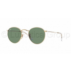 Ray-Ban RB3447 001 ROUND METAL ARISTA CRYSTAL GREEN napszemüveg (RB3447__001)