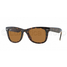 Ray-Ban RB4105 710 FOLDING WAYFARER LIGHT HAVANA CRYSTAL BROWN napszemüveg (RB4105__710)
