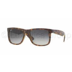 Ray-Ban RB4165 710/8G JUSTIN SHINY HAVANA GREY GRADIENT DARK GREY napszemüveg (RB4165__710_8G)