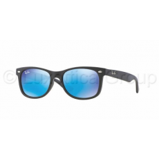 Ray-Ban RJ9052S 100S55 MATTE BLACK BLUE MIRROR napszemüveg (RJ9052S__100S55)
