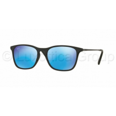 Ray-Ban RJ9061S 700555 RUBBER BLACK LIGHT GREEN MIRROR BLUE napszemüveg (RJ9061S__700555)