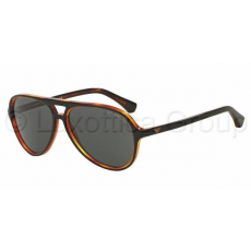Emporio Armani EA4063 546487 TOP BLACK ON HAVANA GREY napszemüveg (EA4063__546487)