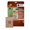 60mm újrahasznosított barna kör termék címke / Avery L7106-20