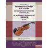 EMB 40 alapfokú gyakorlat hegedűre Op. 54