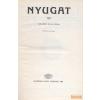 Akadémiai Nyugat 1911 II/B (19-24. szám) - Reprint