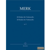 Bärenreiter 20 Etudes for Violoncello