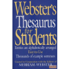 Merriam-Webster Webster's Thesaurus for Students