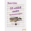Eötvös Kiadó 33 etűd oboára vagy más dallamhangszerre