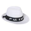 Al Capone textil kalap fehér (gengszter kalap)