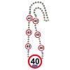 40. évszámos nyaklánc
