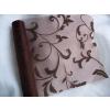 Inda mintás csoki organza (47 cm * 5 m)
