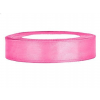 1,2 cm-s szatén szalag (25 m) rózsaszín
