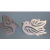 Különleges, galambos ültetőkártya (10 db)