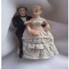 Esküvői pár 10 cm (461485 b)