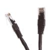 Digitalbox CAT6 UTP patch kábel 0.5m fekete