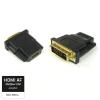 Qoltec DVI-D - HDMI adapter