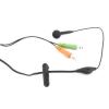 4world Mikrofonos fülhallgató (03386)