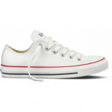 Converse Chuck Taylor All Star Leather Unisex Tornacipő, Fehér, 41.5 (132173C 8)