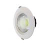 LEDvonal LED panel / mélysugárzó / 20 W / süllyesztett / kerek / hideg fehér izzó
