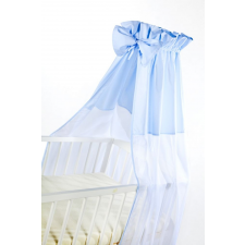 Klups univerzális baldachin kiságyra - Niebieski/kék kiságy, babaágy