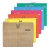 Függőmappa, gyorsfűzős, karton, A4, DONAU, sárga 25 db/csomag
