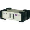 2 portos USB-s KVM switch, (billentyűzet, video, egér) elosztó, PS/2 és VGA kimenettel Aten CS82U-AT