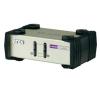 2 portos USB-s KVM switch, (billentyűzet, video, egér) elosztó, PS/2 és VGA kimenettel Aten CS82U-AT billentyűzet és egér szett
