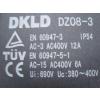 LUMAG DKLD DZ08-3 Motorvédő kapcsoló