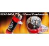 xXx xxx 1 Farad kapacitású autó hifi kondenzátor XCAP-2000 hangtechnikai eszköz