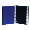 Előrendező, A4, 1‐31, karton, DONAU, fekete