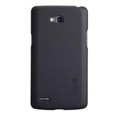 Nillkin Super Frosted hátlap tok LG L80, fekete + ajándék kijelzővédő fólia tok és táska