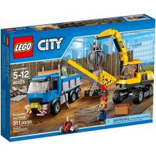 LEGO CITY Markoló és teherautó 60075 lego