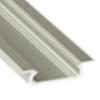 Lumines Alu profil eloxált (Type-Z) ezüst, opál
