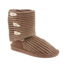 BEARPAW női csizma Knit Tall 37 barna