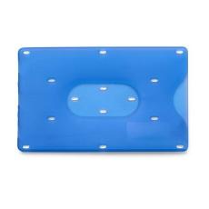 Bankkártyatartó, műanyag, világoskék (Műanyag bankkártyatartó.)