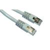 Gembird Cat6 FTP szürke patch kábel 25cm (PP6-0.25M)