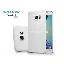 Samsung SM-G928 Galaxy S6 Edge+ hátlap képernyővédő fóliával - Nillkin Frosted Shield - fehér tok és táska