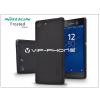 Nillkin Sony Xperia M5 (E5603/E5606/E5653) hátlap képernyővédő fóliával - Nillkin Frosted Shield - fekete