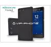 Nillkin Sony Xperia M5 (E5603/E5606/E5653) hátlap képernyővédő fóliával - Nillkin Frosted Shield - fekete tok és táska