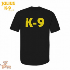 Julius-K9 K9 póló, fekete - méret: XL