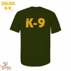 Julius-K9 K9 póló, olajzöld - méret: M