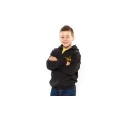 Julius-K9 K9 cipzáras gyermek pulóver, fekete - méret: S