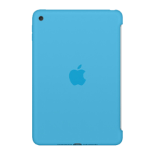 Apple iPad Mini 4 Silicone Case, kék (mld32zm/a) tablet tok