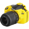 Easy Cover Szilikon Tok D3200, sárga