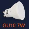 LED lámpa GU10 (COB2835/7Watt/120°) meleg fehér Opál
