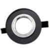 - Olcsó üveg spot lámpatest (1085OSZK), kör, fix, fekete