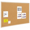 BI-OFFICE Cork Notice Board BI-OFFICE  50x40cm  wood frame 5603750015703