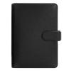 FILOFAX Kalendárium, gyűrűs, betétlapokkal, personal méret, FILOFAX Saffiano, fekete