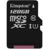 Kingston 128GB G2 Class 10 UHS-I microSDXC memóriakártya Single Pack SDC10G2/128GBSP